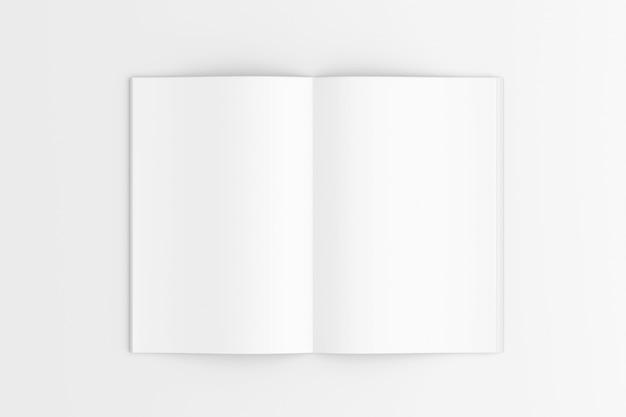 Offene zeitschrift, 3d-rendering