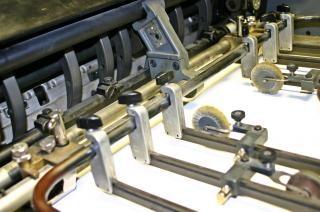 Offset-druckmaschine, details