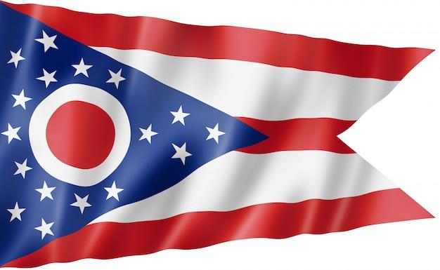 Ohio flagge, usa