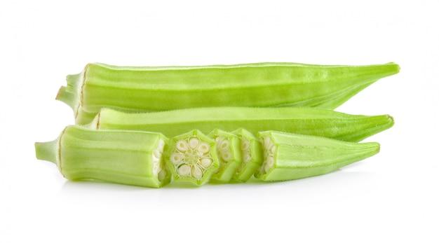 Okra oder grüne roselle