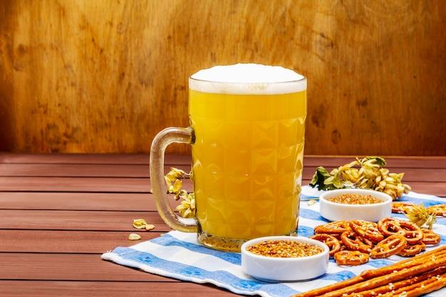 Oktoberfest essen und trinken set