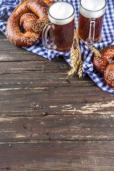 Oktoberfest festlichen hintergrund