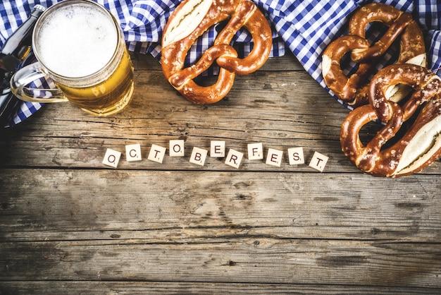 Oktoberfest food-konzept
