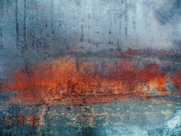 Old grunge rusty metalloberfläche textur hintergrund