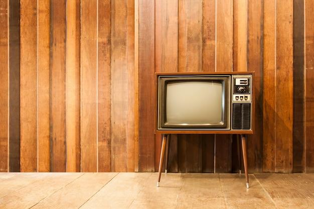 Old vintage fernsehen oder fernsehen