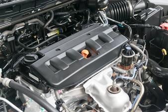 Ölkappe in einem Automobil-Motor