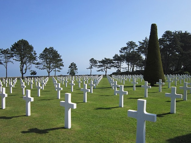 Omaha beach friedhof