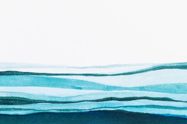 Ombre blauer aquarellhintergrund abstrakter stil