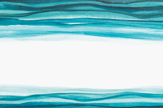 Ombre blauer aquarellrand abstrakter stil