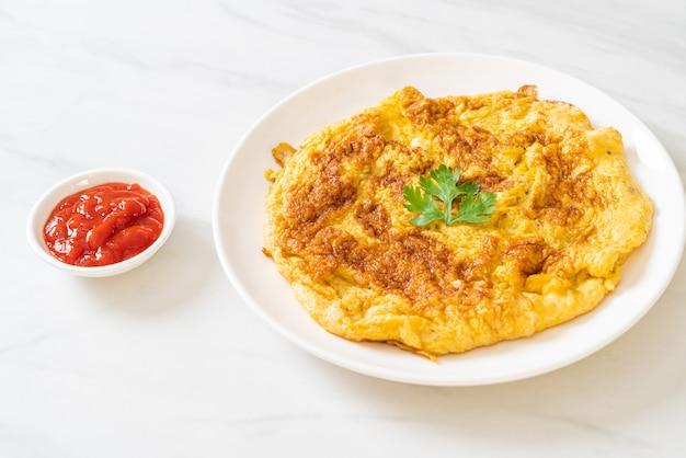 Omelett oder omelett