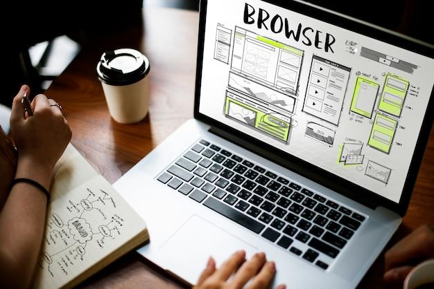 Online-browser
