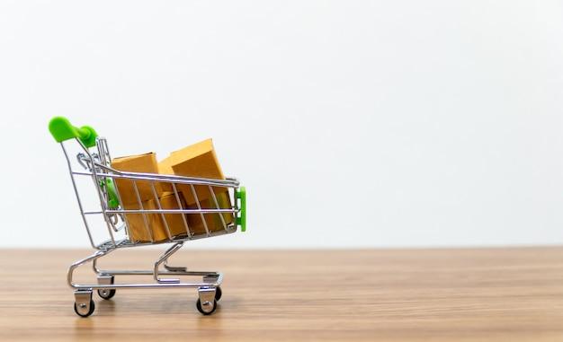 Online-einkaufswagen
