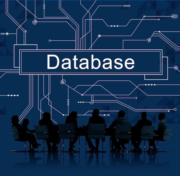 Online-geschäftsdatenbank