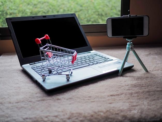 Online-geschäftsverkäufer