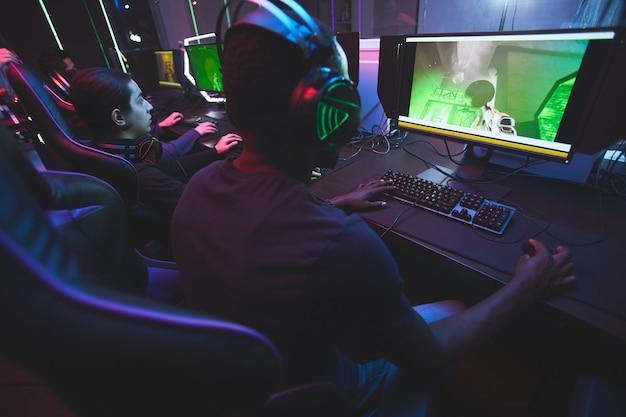 Online-multiplayer-spiel spielen