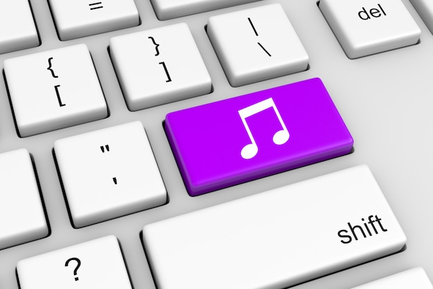 Online musik