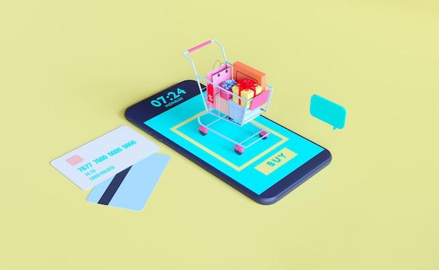 Online-shop für mobile anwendungen
