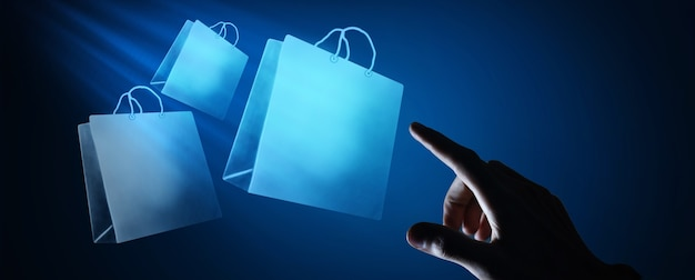 Online-shopping business-icon-anwendung