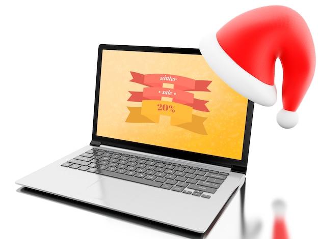 Online-shopping für weihnachten
