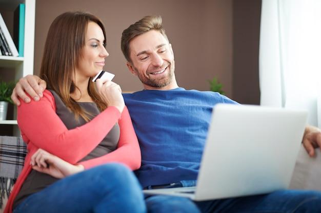 Online-shopping ist so einfach und schnell
