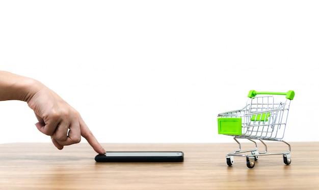 Online-shopping-verkauf von e-commerce-komfort