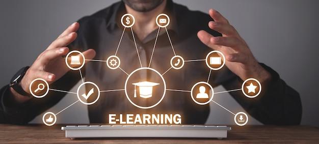 Online-training für e-learning-technologie