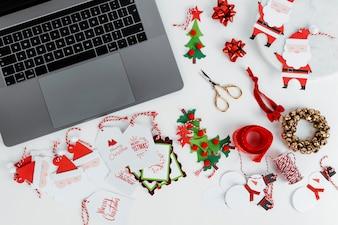 Online-Weihnachtseinkäufe