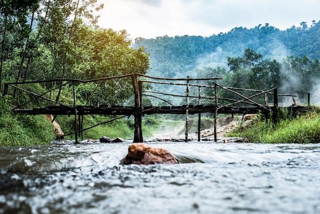 Onsen bei plai-poo hot spring kapong phang-nga