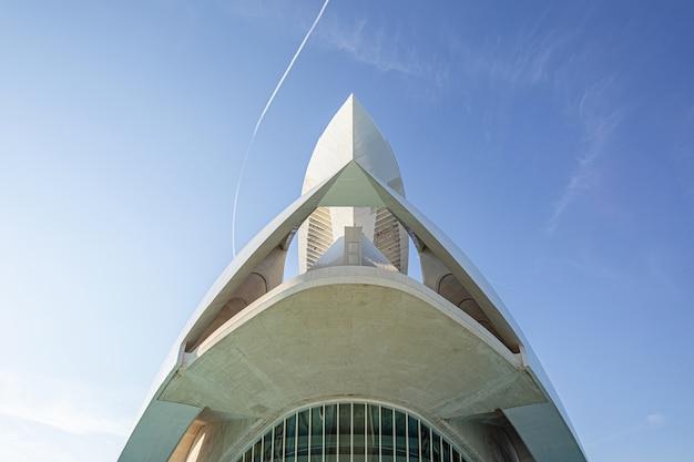 Opernhaus und zentrum für darstellende kunst im architekturkomplex der stadt valencia
