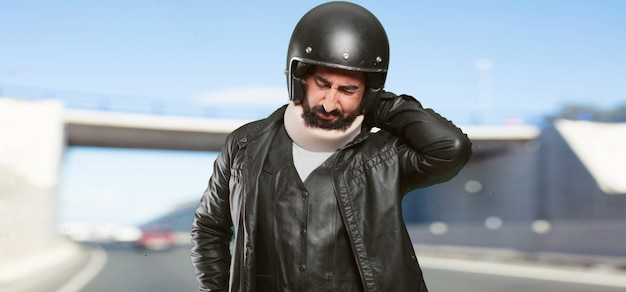 Opfer eines motorradfahrers