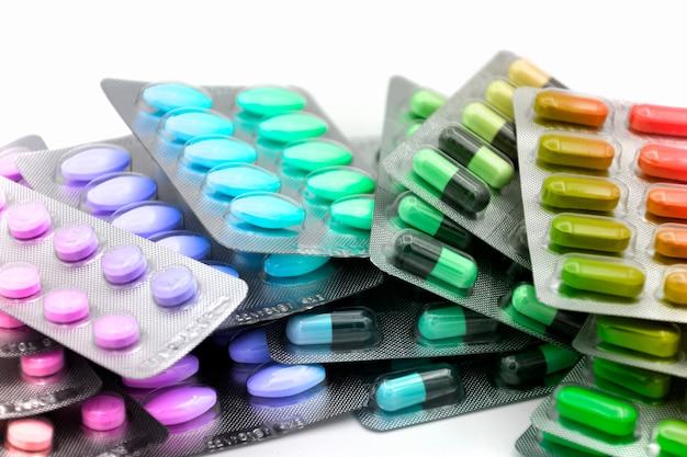 Orale darreichungsform. kapsel, tablette, kapsel in streifen zur dosierungseinheit.