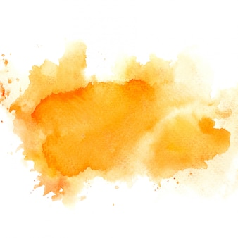 Orange aquarell