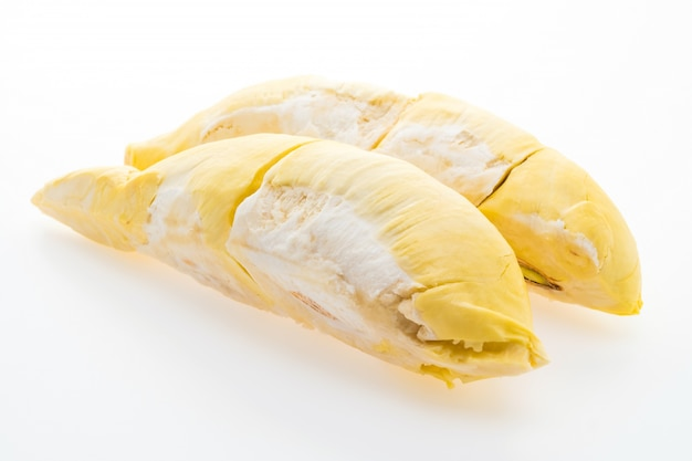 Orange frische frucht grün durian