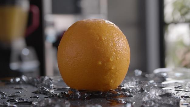 Orange für erfrischende und gesunde getränke