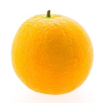 Orange obst isoliert auf weißem hintergrund