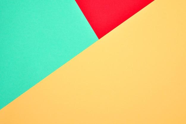 Orange, rot, grüner bunter hintergrund. platz für text oder design.