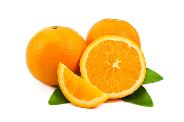 Orange saftigen reifen kreis zitrus