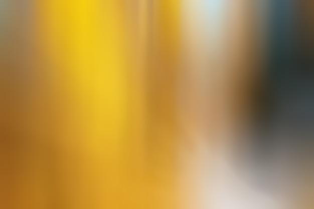 Orange und gelber abstrakter hintergrund verschwommene linienobjekte