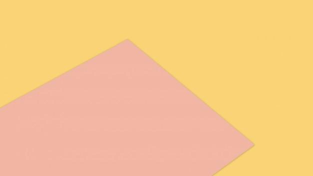 Orange und rosa pastellpapierfarbe für beschaffenheitshintergrund