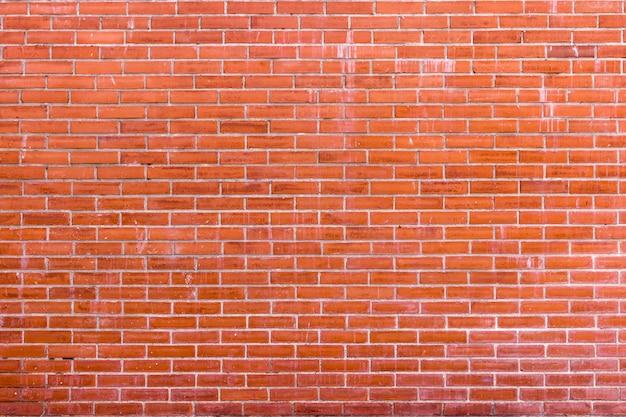 Orange vintage backsteinmauer für hintergrund oder textur
