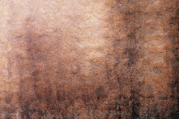 Orange wand im pilz. hintergrundoberfläche