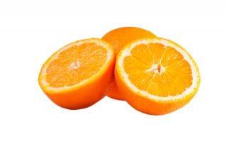 Orangen frisch