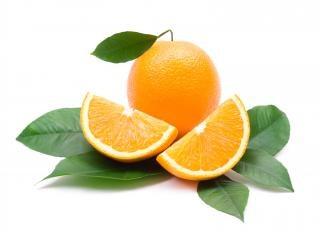 Orangen gesunde und frische