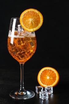 Orangen limonade zitrus eis trinken getränk soda