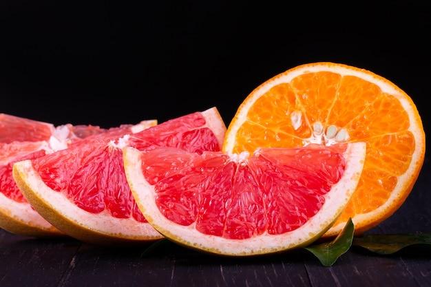 Orangen- und grapefruitsaft