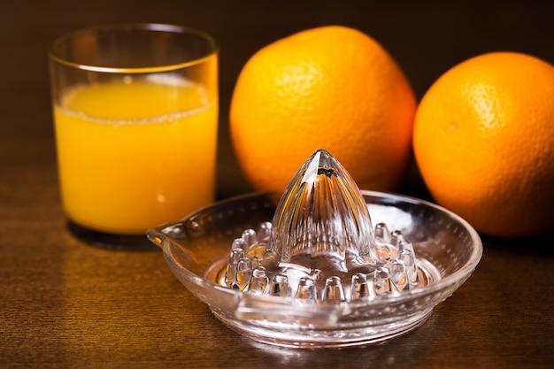 Orangen und sein saft