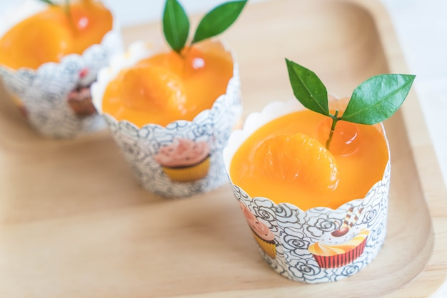 Orangenbecher kuchen