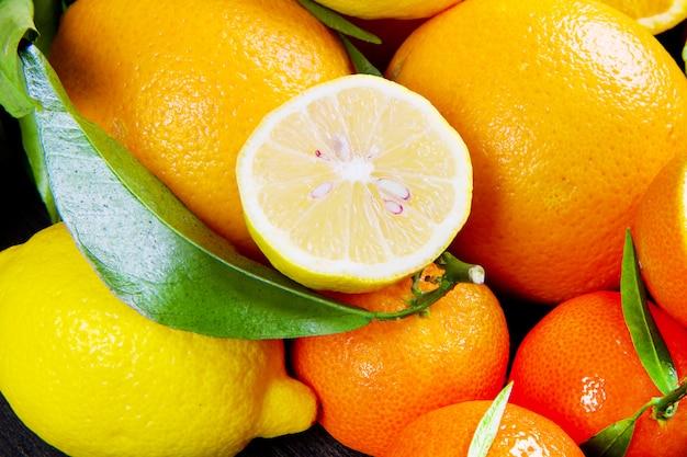 Orangenfrucht, frische mandarinenorangen