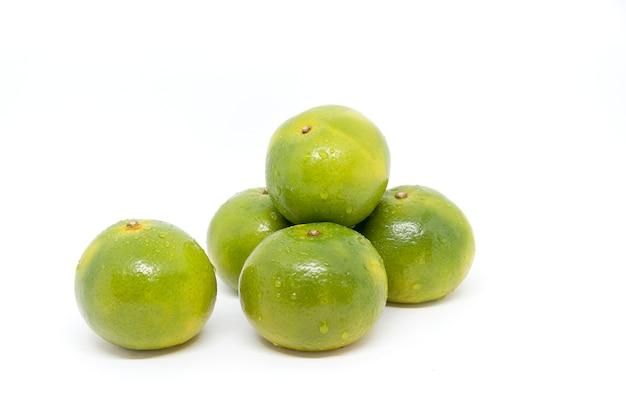 Orangenfrucht isoliert