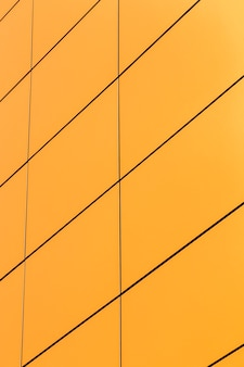 Ordentliche gelbe oberfläche der nahaufnahme